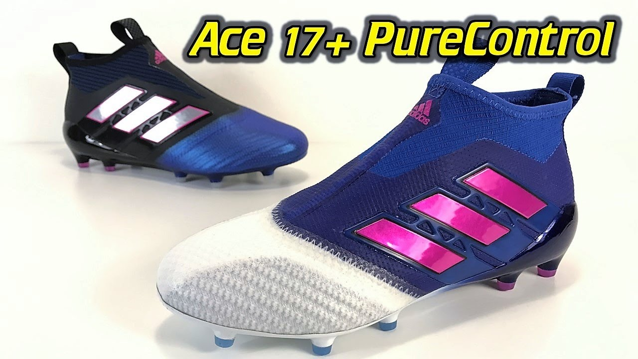 Adidas ACE 17+ Purecontrol (Blue Blast Pack White Toe) One Take Review + On Feet