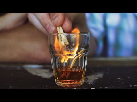 Does Booze Really Catch Fire? (Answer: It Depends.)