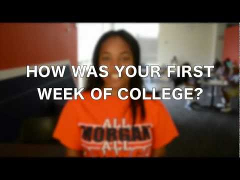 """First Week of College"" At Morgan State University"