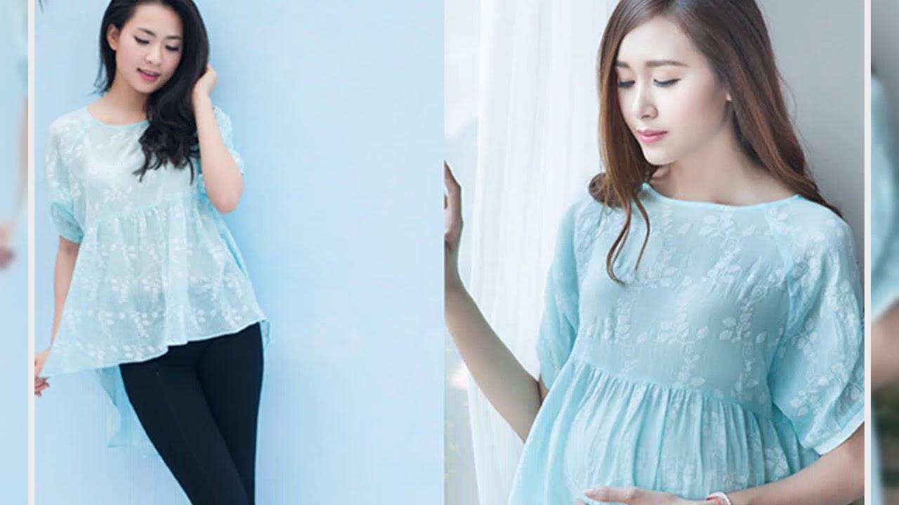 Vừa thoải mái lại xinh đẹp chính là áo bầu Hàn Quốc