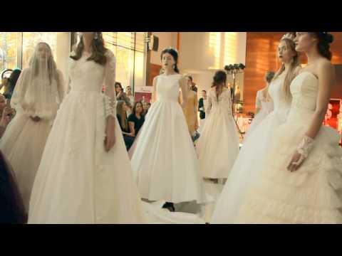 Рудковская ищет свадебное платье
