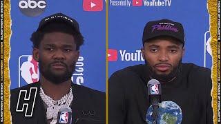 DeAndre Ayton & Mikal Bridges Postgame Interview - Game 5 - Bucks vs Suns