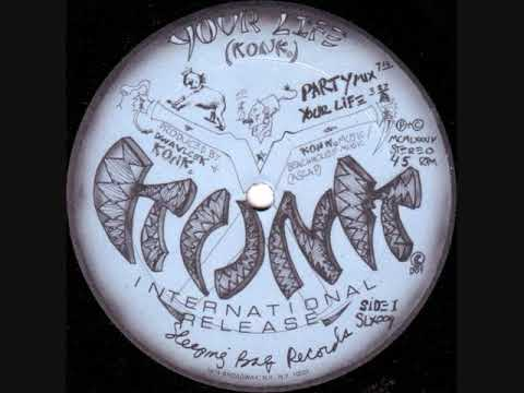Konk - Your Life (Party Mix) - 1984