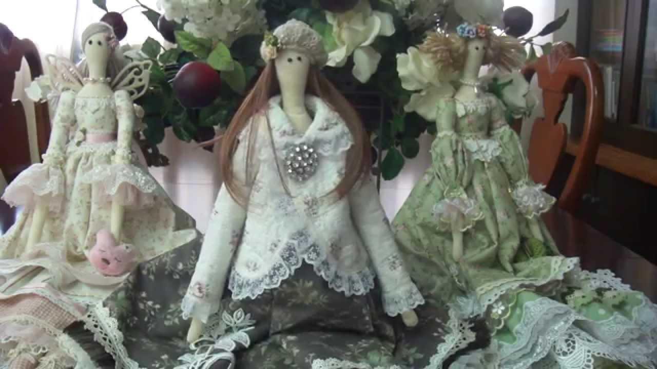 "Tilda Dolls"" collection - part1 - YouTube"
