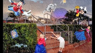 Walt Disney World with 4 and 5 yr olds and Hurricane Matthew (Oct 2016)