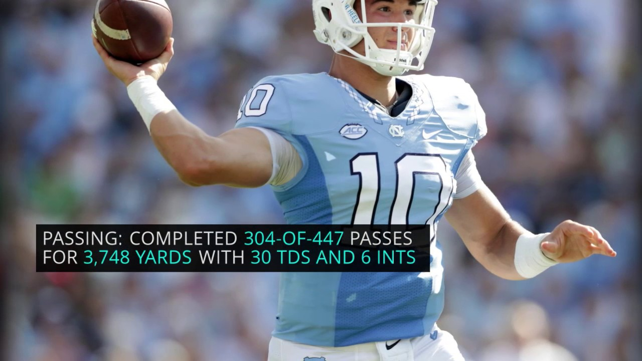 Even Mitchell Trubisky was surprised by how much teams valued offensive players in the NFL Draft