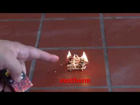 Endotherme und exotherme chemische Reaktionen