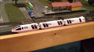 The best Tyco Turbo Train ever!