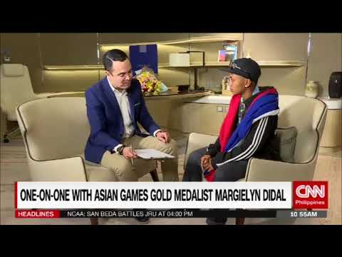 One-on-one with Asian Games gold medalist Margielyn Didal  (Part 1)