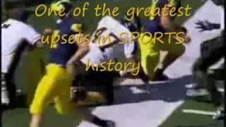 Appalachian State University Football greatest upset ever.wmv