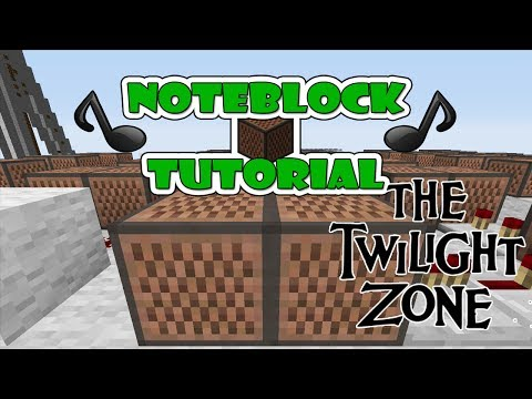 Twilight Zone Doorbell - Note Block