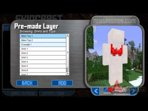 How to create a Skin in Minecraft | SKINCRAFT | Tutorial | make on for