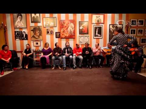 Vídeo Reportaje Flamenco en Andalucía: Lakshmi Basile