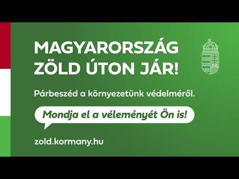 Magyarország Kormánya online párbeszédet indít zöld ügyekben