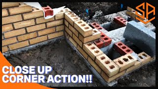 .RETAINING WALL PART 3...BUILDING STEPS AND CORNER ON RETAINING WALL