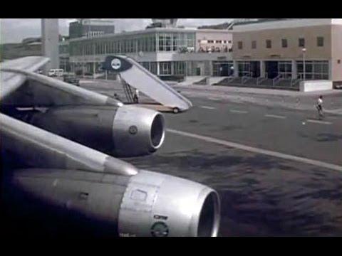 "KLM/Garuda Douglas DC-8-33 - ""Arrival Curacao"" - 1972"