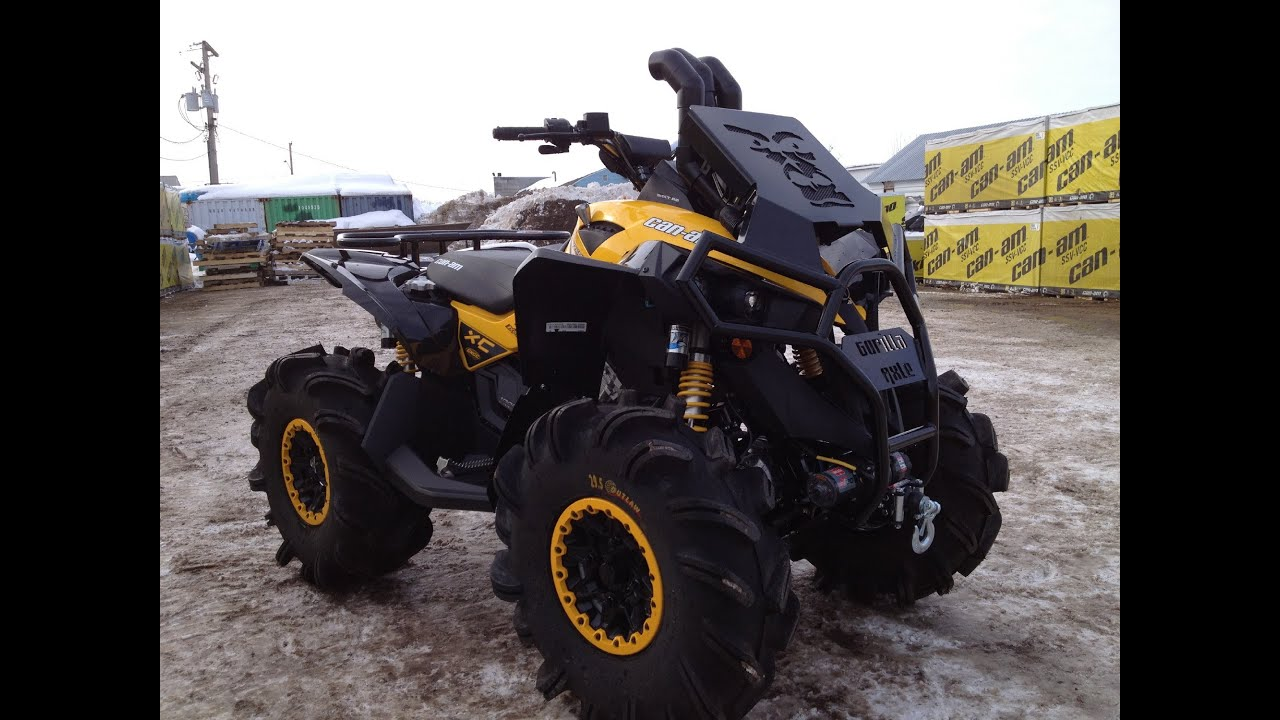 quad can am 1000 renegade 2015