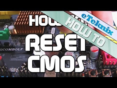 How To Reset CMOS