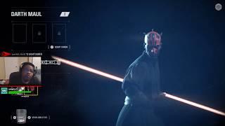 Star Wars Battlefront 2 Gameplay - Battlefront 2 Multiplayer Live - Unlocking Weapons