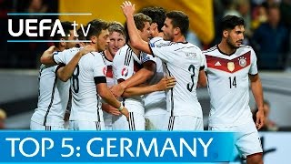 Top 5 Germany EURO 2016 qualifying goals: Müller, Götze and more
