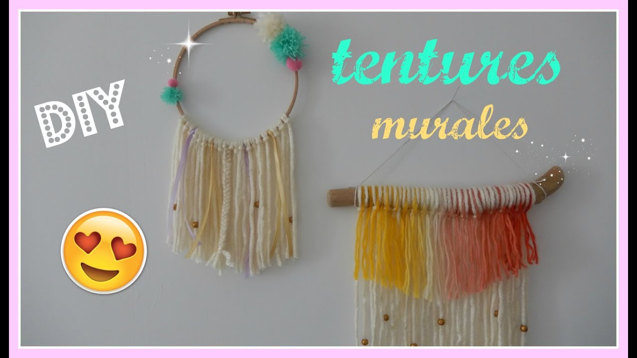 Diy d co tissage mural joli et facile faire soi m me youtube - Deco automne a faire soi meme ...