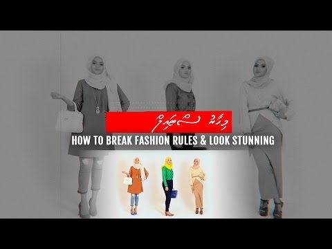 Mihaaru Style: How To Break Fashion Rules & Look Stunning