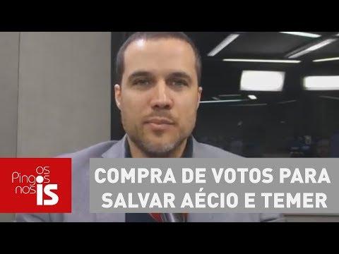 Felipe Moura Brasil analisa compra de votos para salvar Aécio e Temer