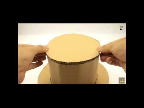 5 interesting things to make at home ...out of cardboard ...