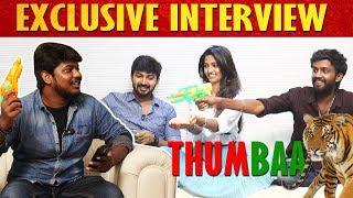 Thumbaa Team Fun Interview | KPY Dheena