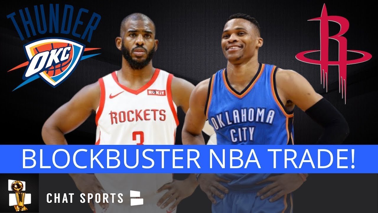 Report: Russell Westbrook Traded to Rockets from Thunder for Chris Paul, Picks