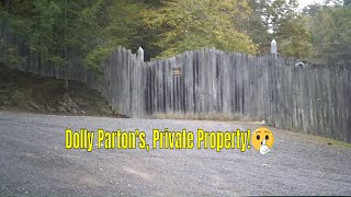 Locust Ridge Rd. Dolly Parton's family home near Pigeon Forge TN