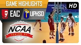 NCAA 91 MV Finals Game 1: UPHSD vs EAC Game Highlights - January 19, 2016