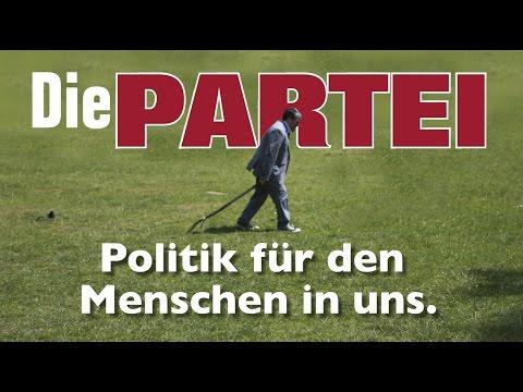 Die PARTEI - Politik für den Menschen in uns.