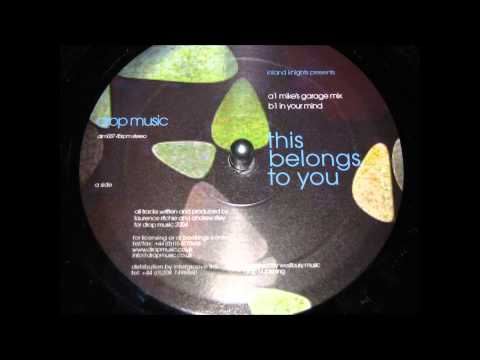 Inland Knights   This Belongs To You Mikes Garage mix