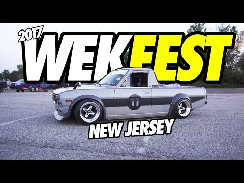 WEKFEST EAST NEW JERSEY WAS INSANE !!!!! STANCE CARS,  JDM CLASSICS, & RB26 SUBARU