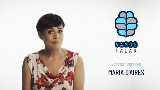 VAMOS FALAR nos bastidores com Maria d'Aires