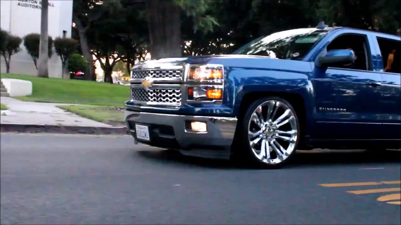 2015 Chevy Silverado Crew Cab Dropped On 24 Denali Reps