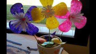 Flores con botellas de plástico en 10 minutos.mpg thumbnail