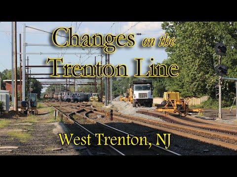 Changes on the Trenton Line: West Trenton, NJ