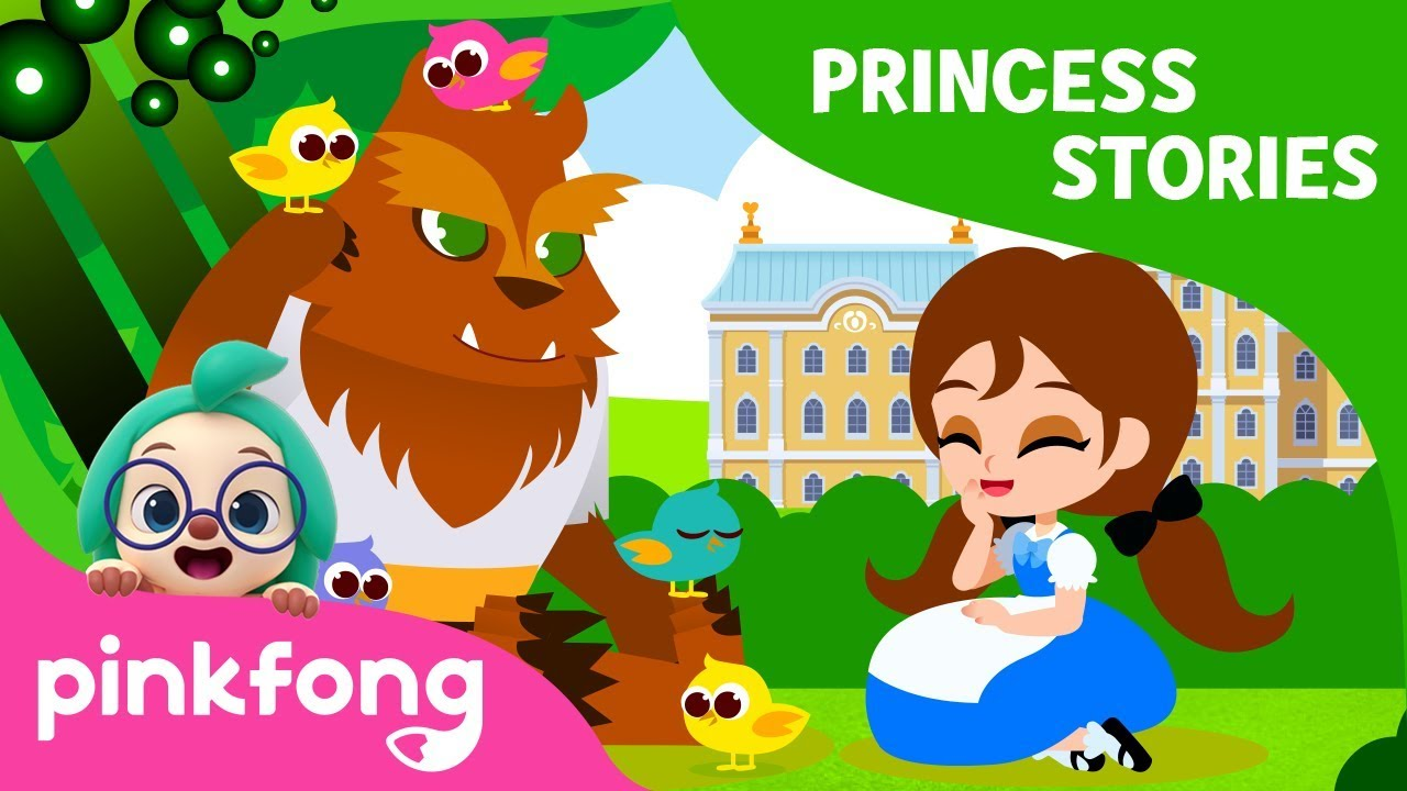 Beauty and the Beast | Princess World | Princess Stories | Pinkfong Stories for Children