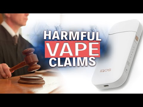Phillip Morris sues Food and Drug Safety Dangerous Vape Claims