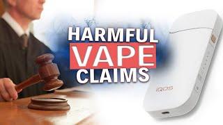 Phillip Morris sues Food and Drug Safety Dangerous Vape Claims