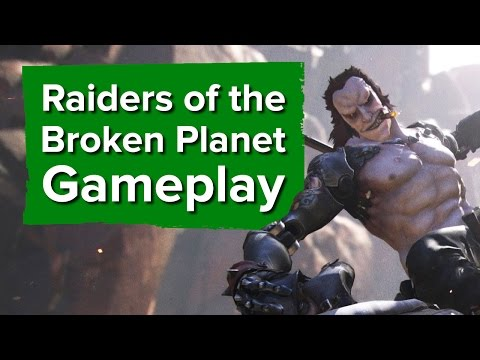 22 minutes of Raiders of the Broken Planet gameplay