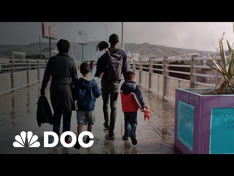 How Thousands Of Asylum Seekers Are Trapped At The U.S. Border | NBC News