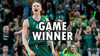 Game Winning Shot by Marius Grigonis [Game Winner]
