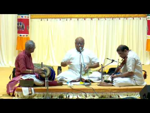Swami Dayananda Saraswathi's Keerthana Concert By Maharajapuram S.Ramachandran at RAJAPALAYAM