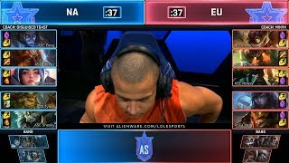NA vs EU 5v5 Highlights All Stars 2019