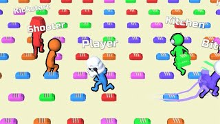 Bridge Race - All Levels Gameplay Android, iOS screenshot 4