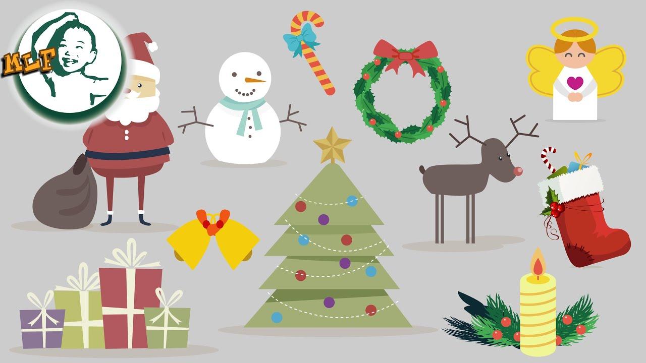 Christmas Decoration Vocabulary List