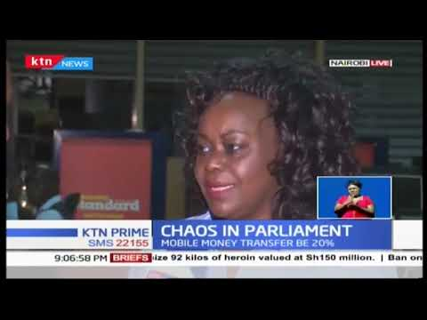 Chaotic scenes characterised the special sitting of the National Assembly